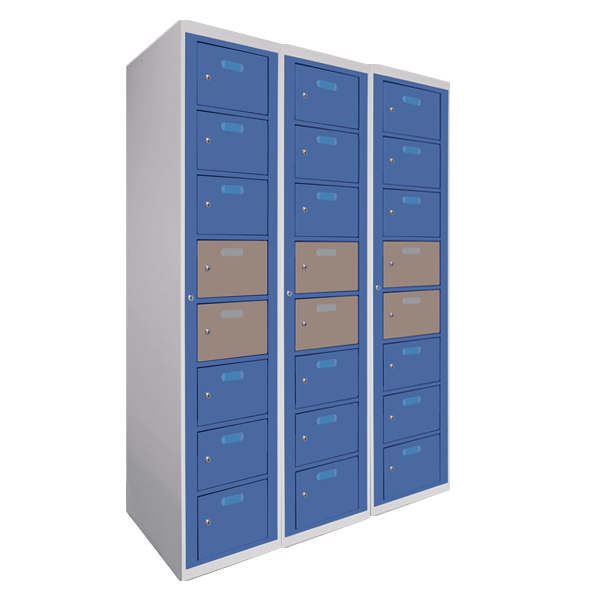 Multidoor lockers